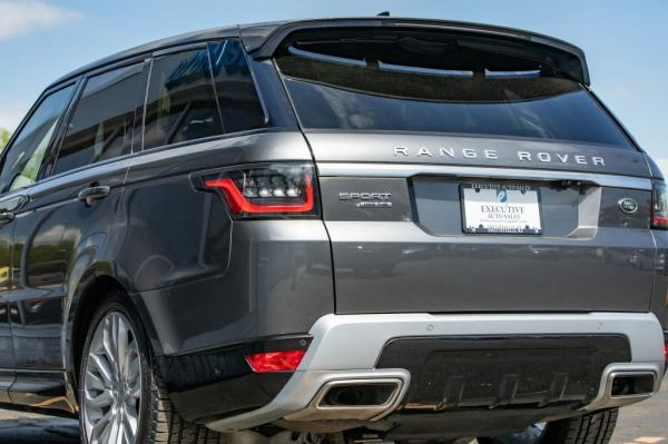 Used 2018 LAND ROVER RANGE ROVER SPO HSE