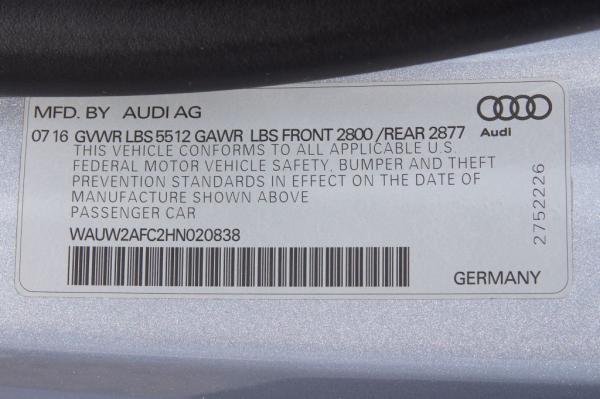 Used 2017 AUDI A7 PREMIUM PLUS