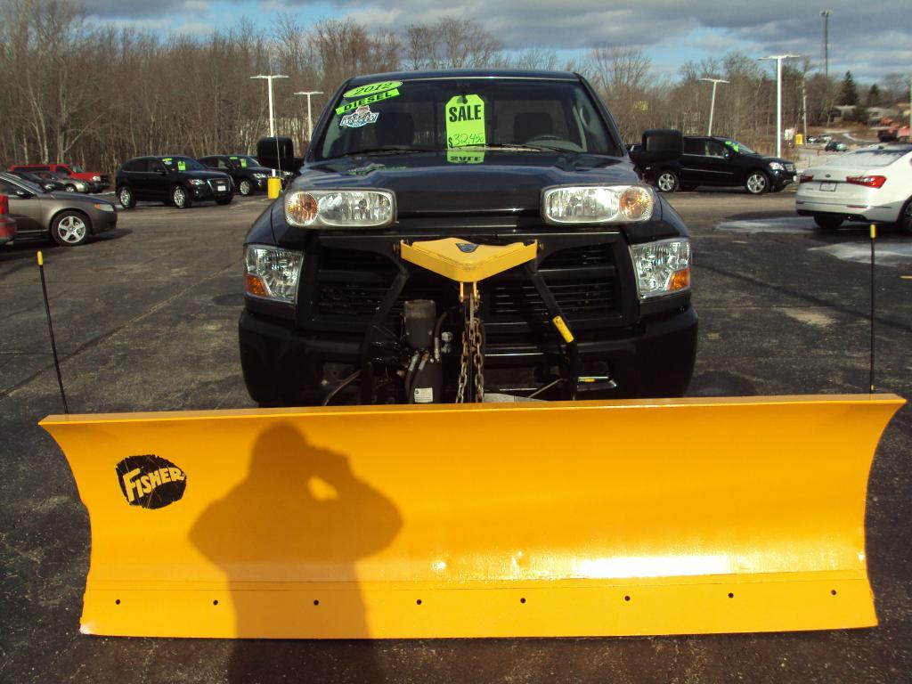 2012 Dodge Ram 2500 St Stock 1538 For Sale Near Smithfield Ri Airbag Light Used
