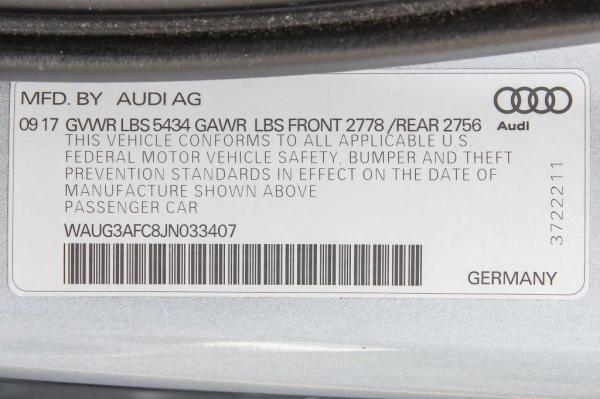 Used 2018 AUDI A6 PREMIUM PLUS PREMIUM PLUS