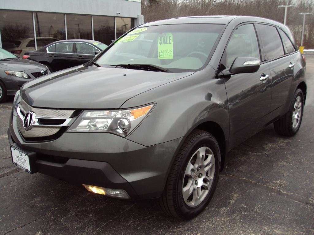 2007 Acura Mdx Tech Technology Stock 1593 For Sale Near