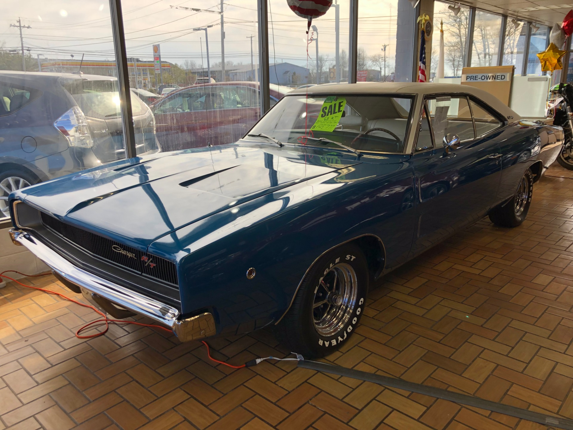 1968 dodge charger rt stock jc68rt for sale near smithfield ri ri dodge dealer. Black Bedroom Furniture Sets. Home Design Ideas