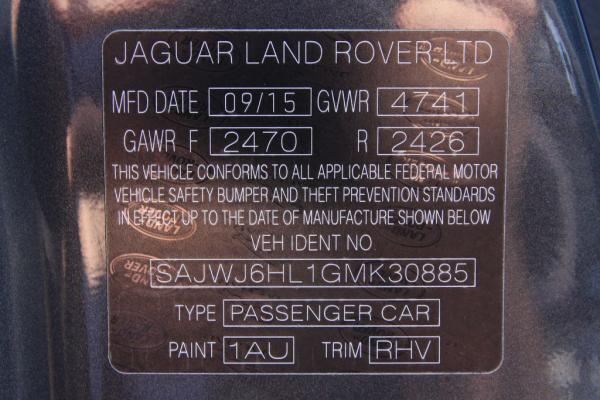 Used 2016 JAGUAR F TYPE R R