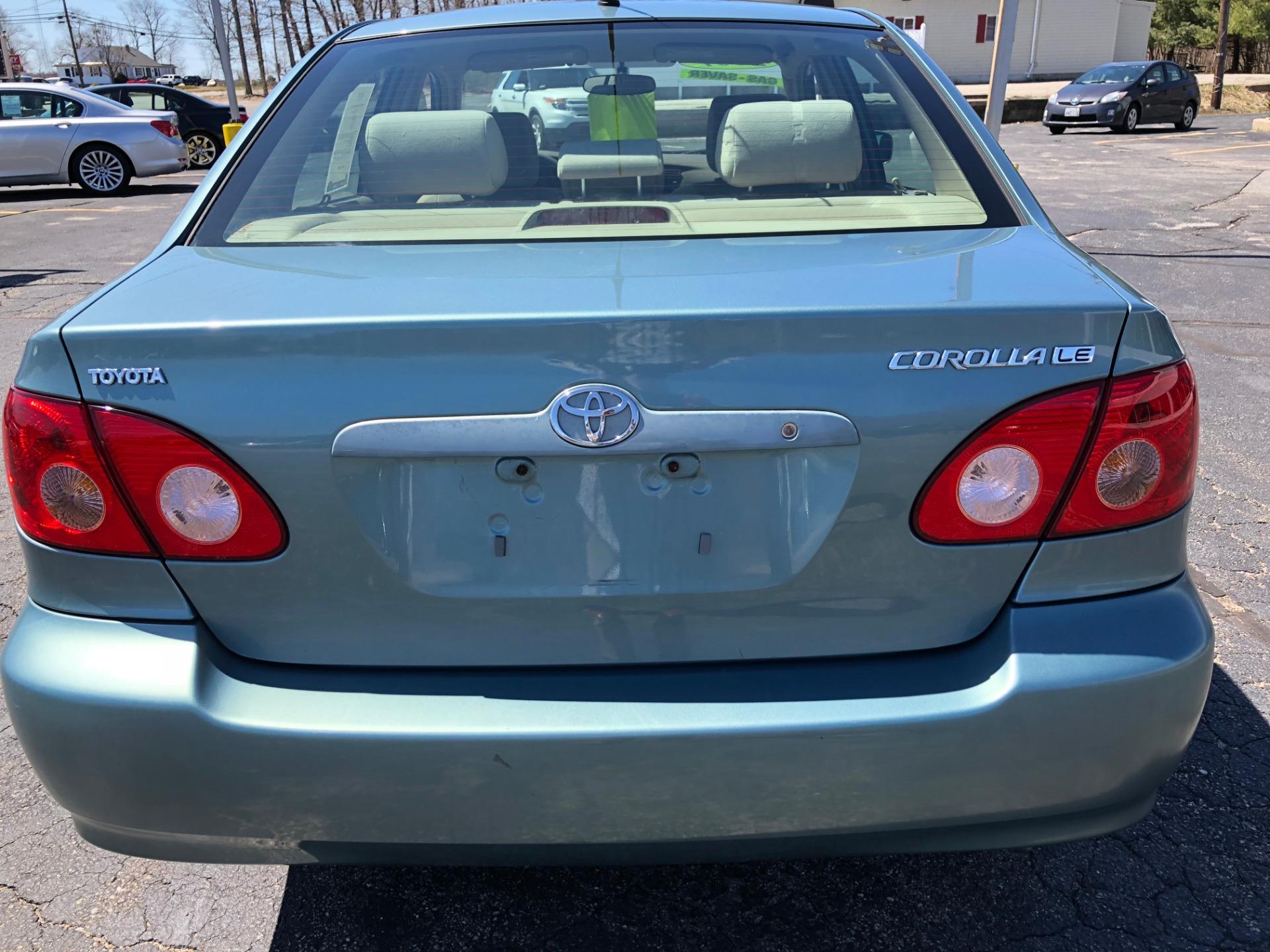 Used 2007 Toyota Corolla Le Le For Sale 5 500