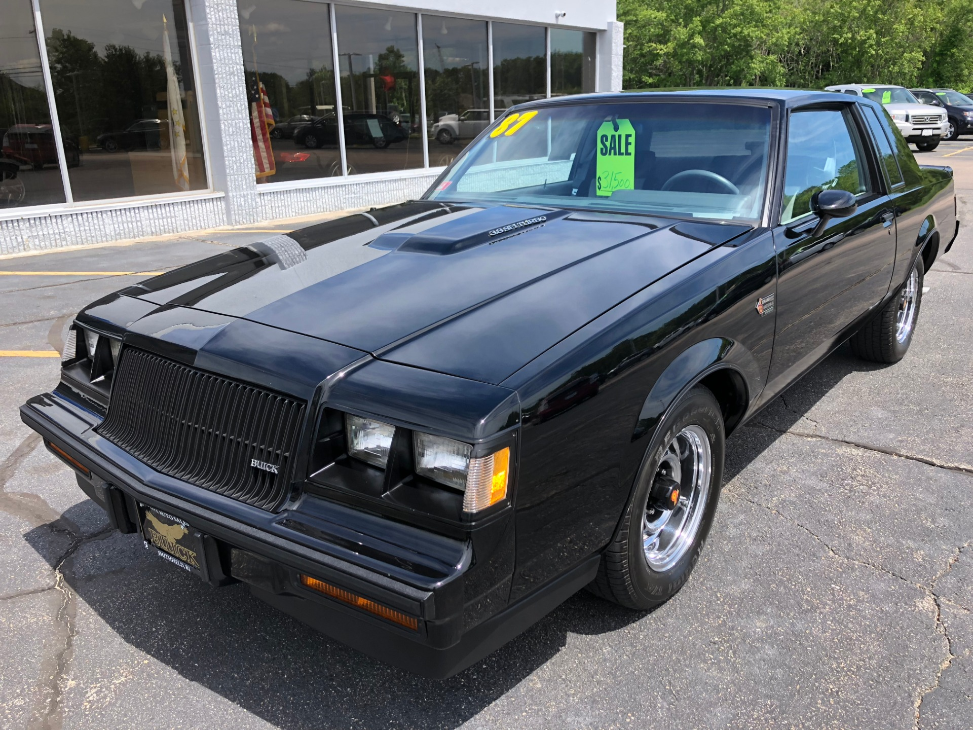 1987 buick regal grand nat grand national stock 951 for sale near smithfield ri ri buick dealer. Black Bedroom Furniture Sets. Home Design Ideas