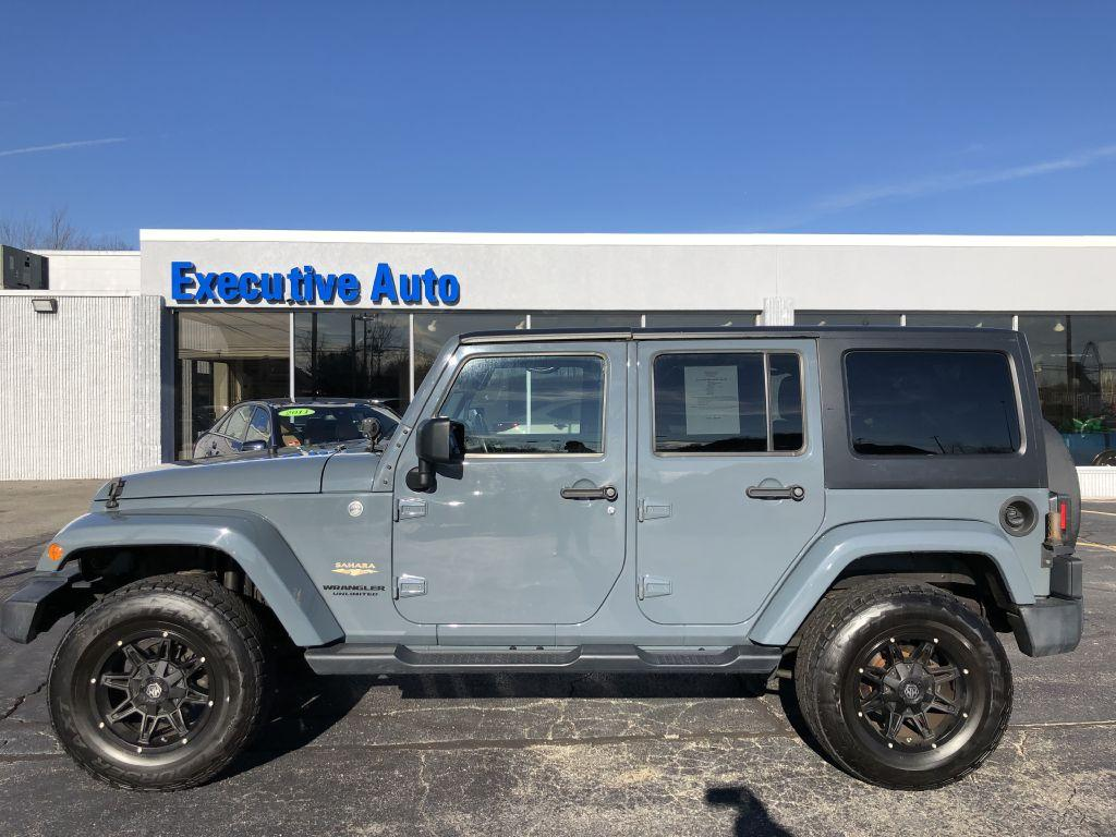 2015 Jeep Wrangler Unlimi Sahara Stock 1702 For Sale Near Fuel Filter Used