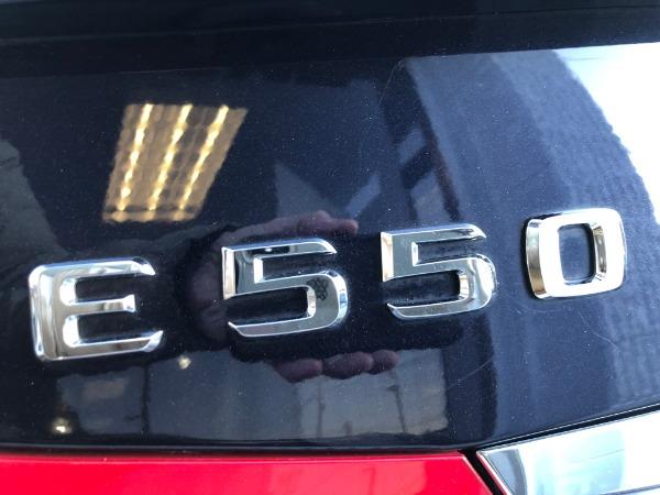 Used 2011 Mercedes Benz E CLASS 550 E550 4MATIC