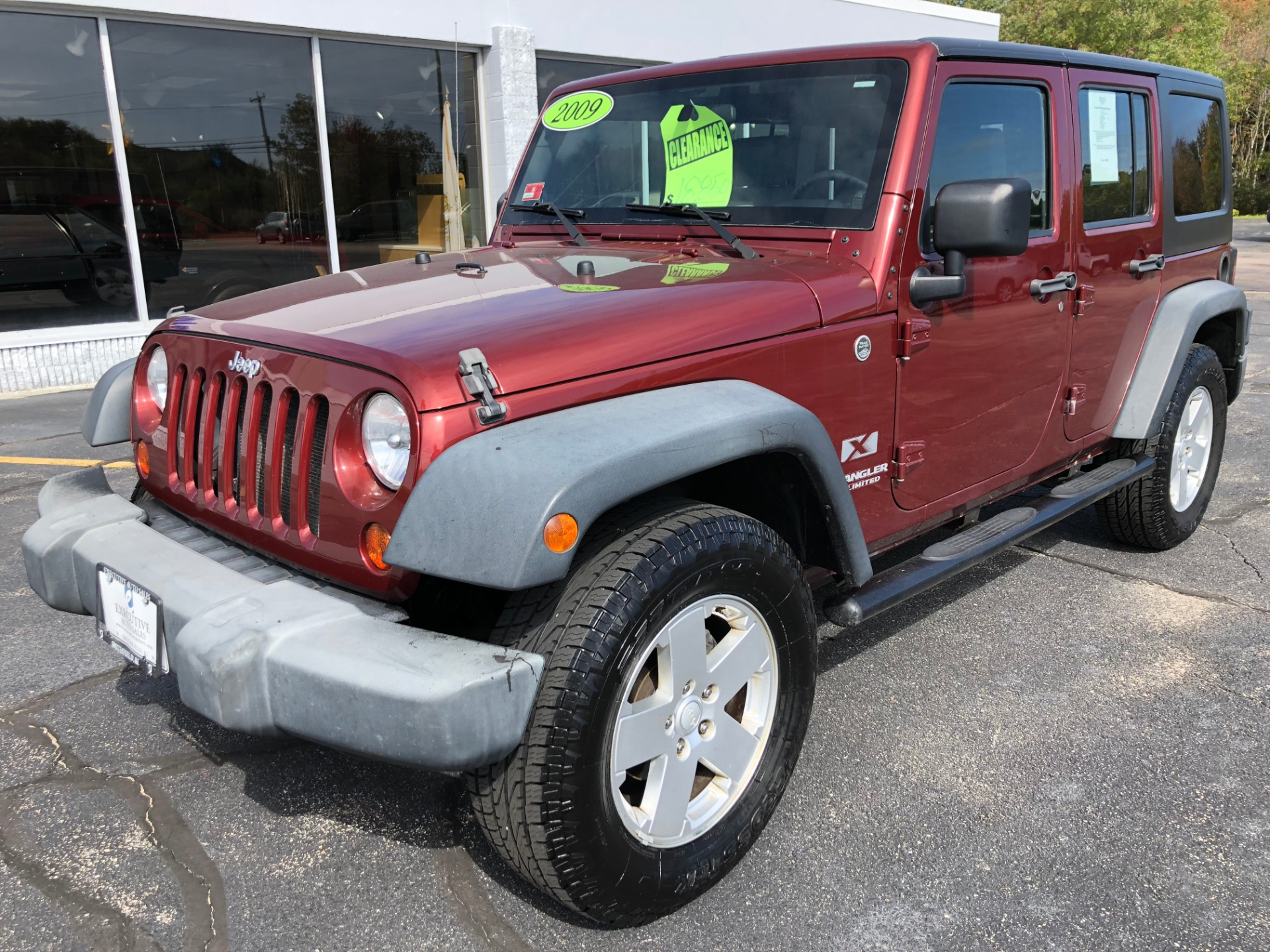 2009 jeep wrangler unlimi x stock 1731 for sale near. Black Bedroom Furniture Sets. Home Design Ideas