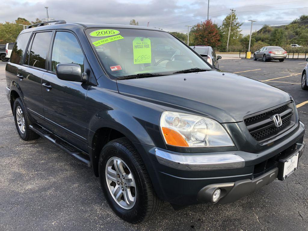 Used 2005 Honda Pilot Ex L Ex L For Sale 5 250