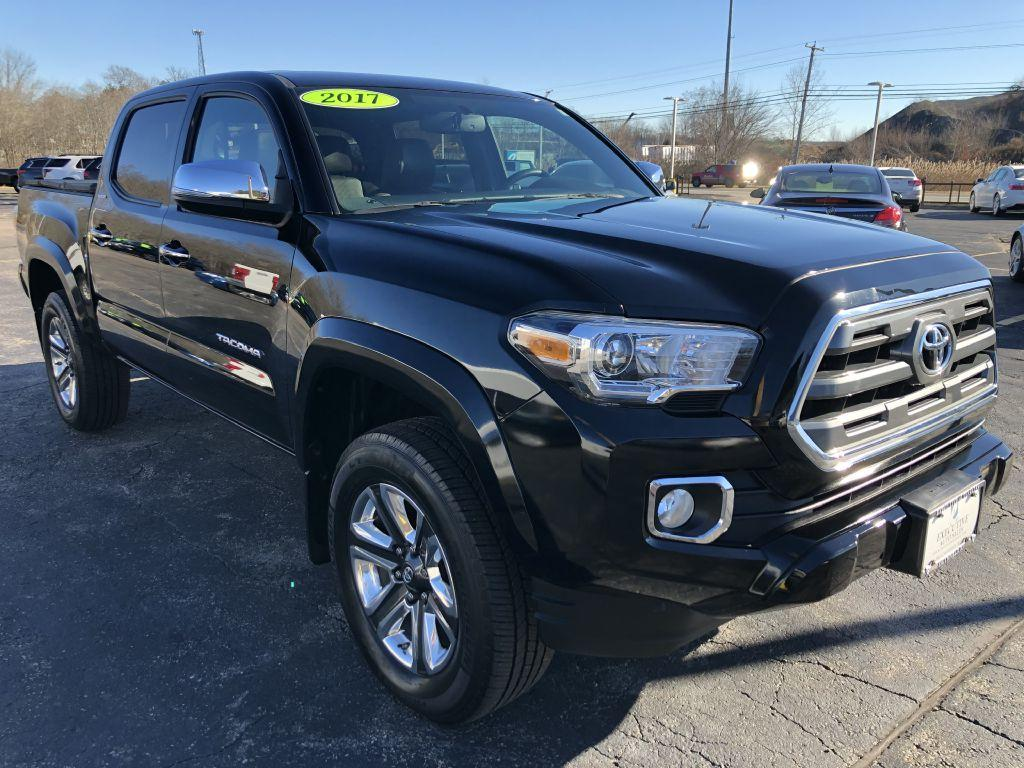 2017 toyota tacoma limited double cab stock 1811 for. Black Bedroom Furniture Sets. Home Design Ideas