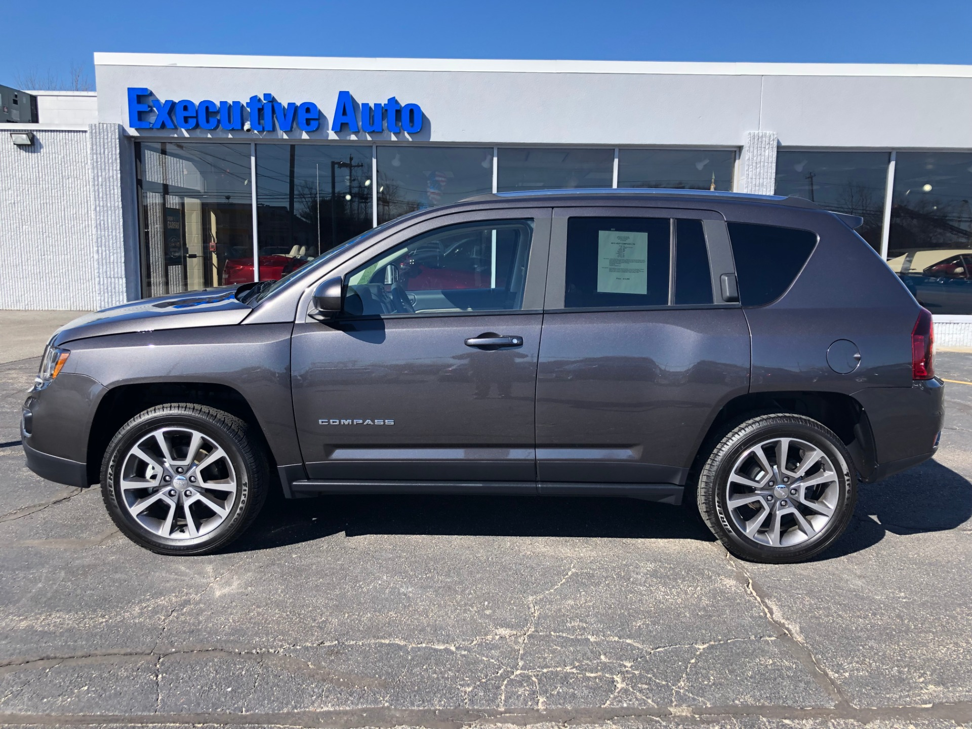 Used 2015 JEEP COMPASS LTD LIMITED For Sale ($19,500