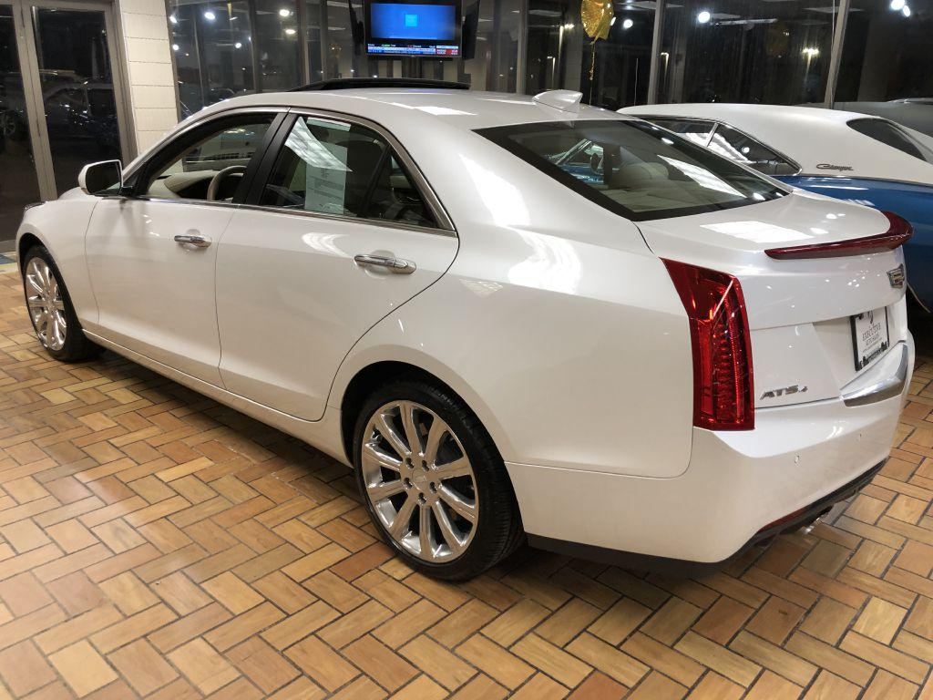 2015 Cadillac Ats 4 Premium Stock 1849 For Sale Near Smithfield