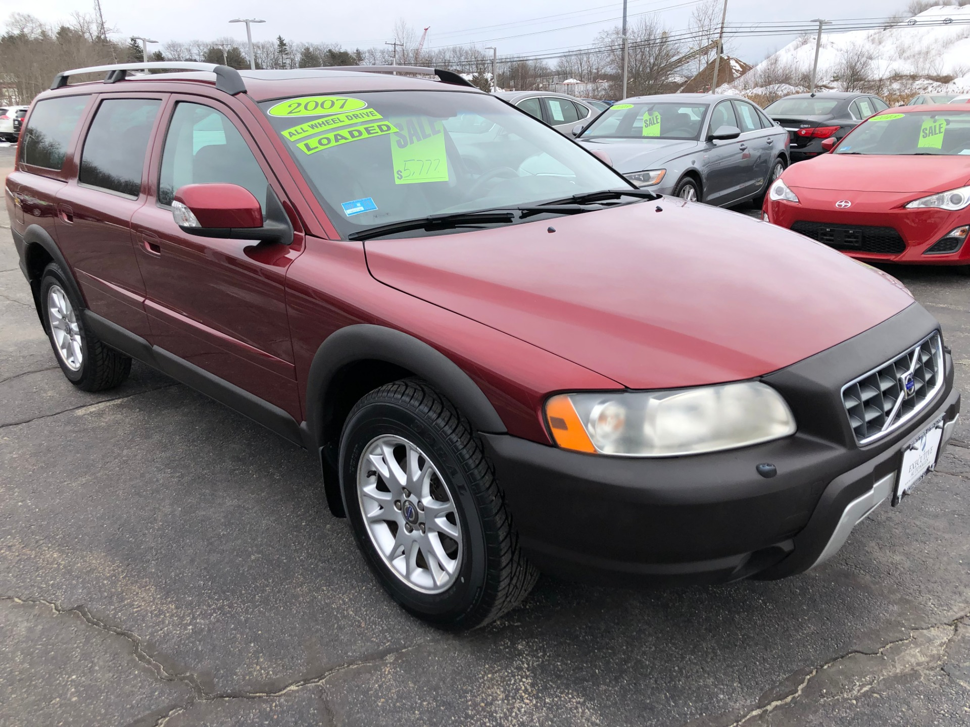 Used 2007 VOLVO XC70 WAGON For Sale ($5,777)