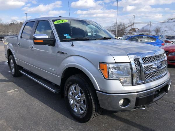 Used 2012 FORD F150 SUPERCREW SUPERCREW Lariat