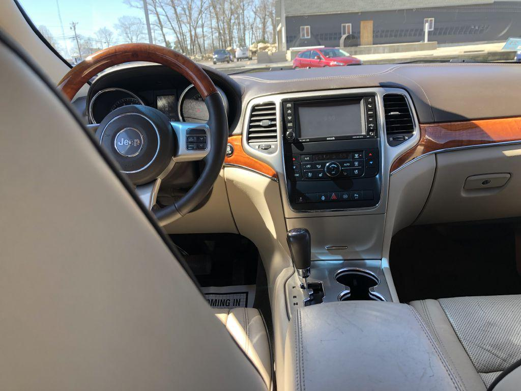 Used 2012 Jeep Grand Cherokee Overland For Sale 16 999 Executive Auto Sales Stock 1923