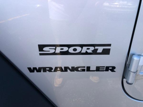 Used 2010 JEEP WRANGLER SPORT SPORT