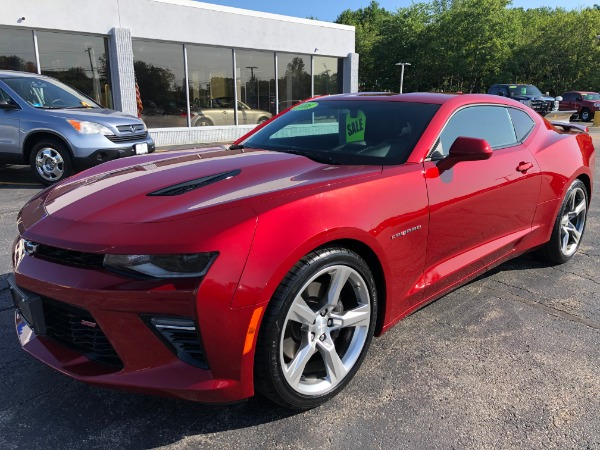 Used 2016 CHEVROLET CAMARO SS SS