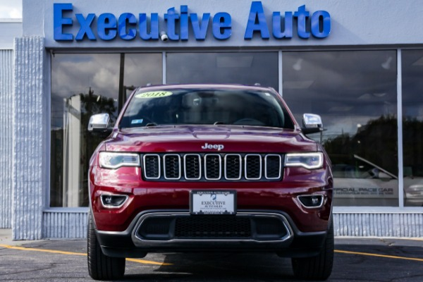 Used 2018 JEEP GRAND CHEROKEE LIMITED