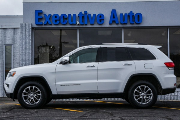 Used 2015 JEEP GRAND CHEROKEE LIMITED