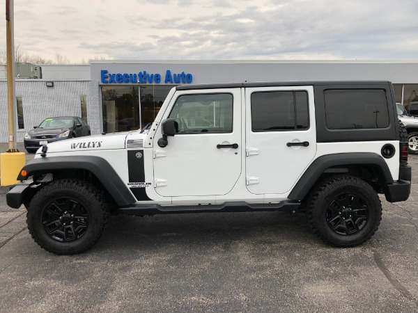 Used 2017 JEEP WRANGLER WILLYS SPORT WILLYS