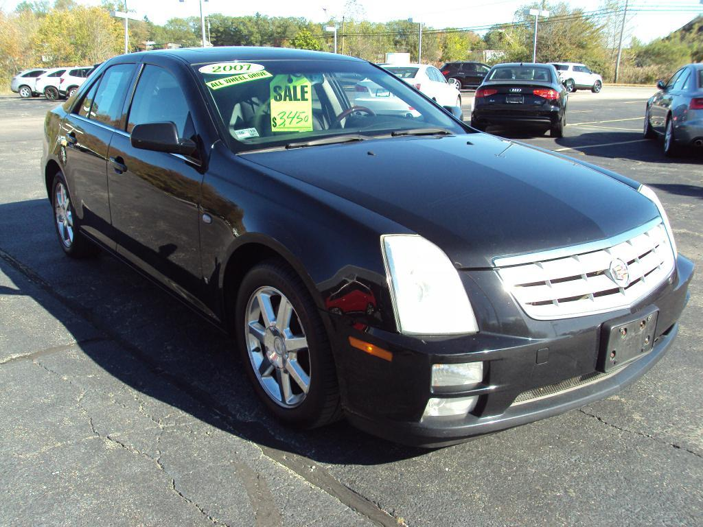 2007 cadillac sts 4 awd stock 1505 for sale near smithfield ri ri cadillac dealer. Black Bedroom Furniture Sets. Home Design Ideas