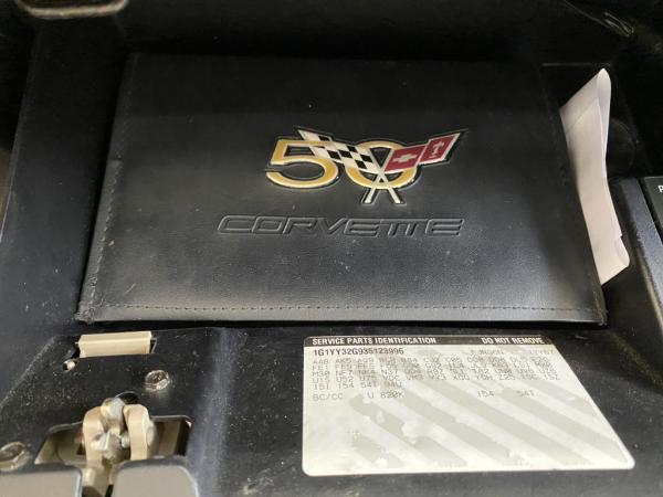Used 2003 CHEVROLET CORVETTE Conv 50th anniv
