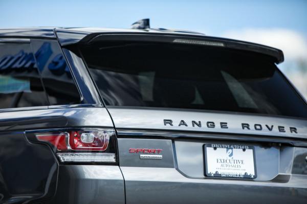 Used 2017 LAND ROVER RANGE ROVER SPO SC