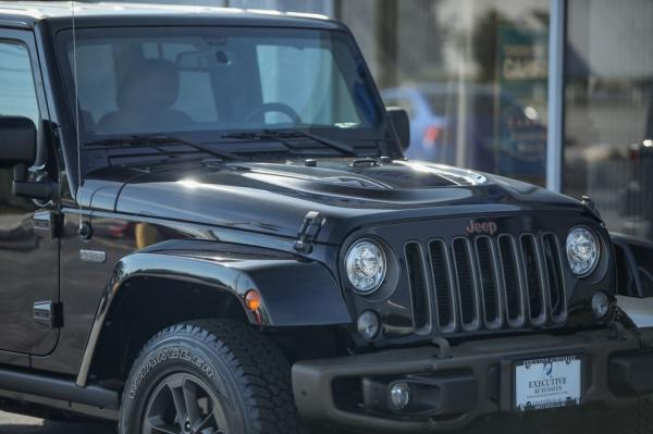 Used 2017 JEEP WRANGLER UNLIMI SAHARA 75TH Anniv