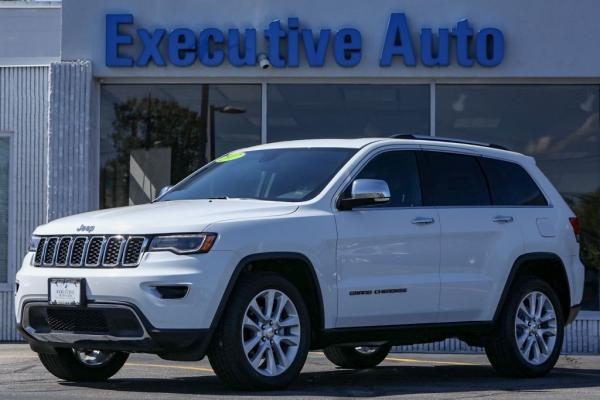 Used 2017 JEEP GRAND CHEROKEE LIMITED