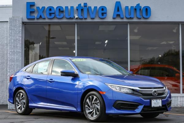 Used 2017 HONDA CIVIC EX EX