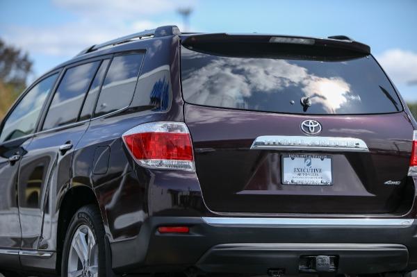 Used 2012 Toyota HIGHLANDER LTD LIMITED