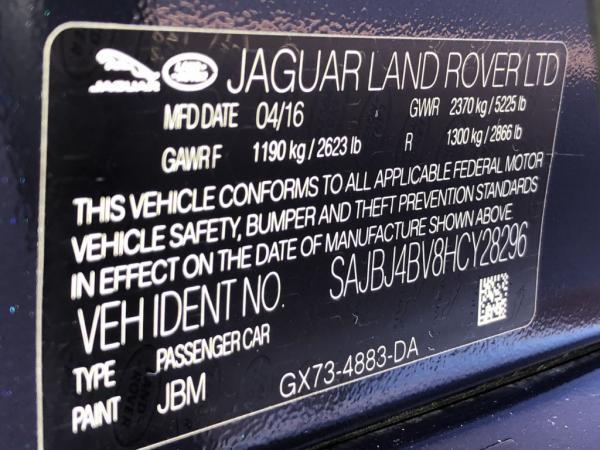 Used 2017 JAGUAR XF 35T PREMIUM