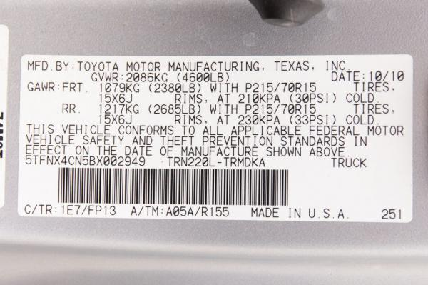 Used 2011 Toyota TACOMA