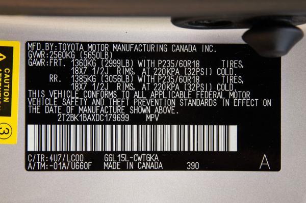 Used 2013 LEXUS RX350 350 BASE